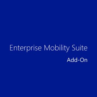 Подписка, Microsoft, Enterprise Mobility Suite Add-On, Single OLP, 12 мес., GS9-00009