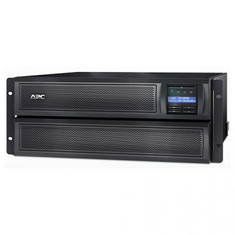 Фото ИБП APC by Schneider Electric Smart-UPS X 3000VA, Rack/Tower 4U RM, SMX3000HV - фото 1