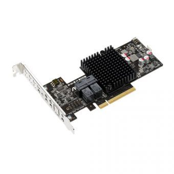 RAID-контроллер Asus PIKE II 3008-8I SAS-3 12 Гб/с Low Profile PIKE II 3008-8I