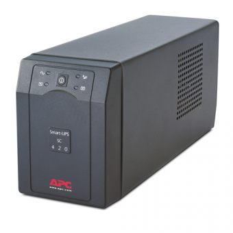 ИБП APC by Schneider Electric Smart-UPS SC 420VA/260W 230V Line-Interactive Hot Swap User Replaceable Batteries  Tower  SC420I - фото 1