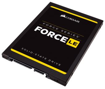 "Диск SSD Corsair - Force Series LE, for Desktop, 2.5"", 960GB, SATA III (6Gb/s), speed write-530MB/s read-560MB/s, TLC, CSSD-F960GBLEB"