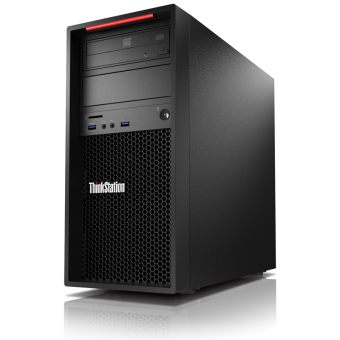Рабочая станция Lenovo - ThinkStation P300, Intel Core i5 4590 3300MHz, DIMM DDR3 8GB, SATA III (6Gb/s)  1TB, Intel HD Graphics 4600, DVD-RW, Чёрный, Windows 8.1 Pro 64 downgrade Windows 7 Professional 64, 30AH0053RU - фото 1