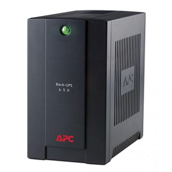 ИБП APC by Schneider Electric Back-UPS 650VA/390W 230V Stand-by  Tower  BC650-RS - фото 1