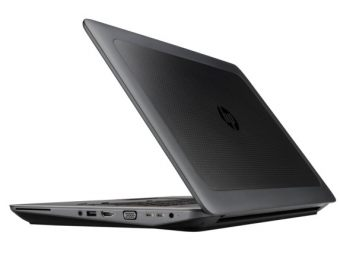 "Мобильная рабочая станция HP ZBook 17 G3 - 17.3"", 1920x1080 (Full HD), Intel Xeon E3 1535Mv5 2900MHz, SODIMM DDR4 16GB, SSD 256GB, nVidia Quadro M2000M 4GB, Bluetooth, Wi-Fi, noDVD, 6cell, Чёрный, Windows 10 Pro 64, Y6J69EA - фото 1"