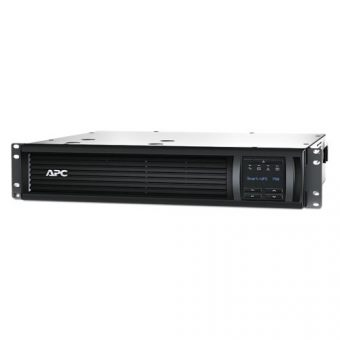 ИБП APC by Schneider Electric - Smart-UPS, 750VA/500W, Line-Interactive, in (230V 1xIEC-320 C14), out (4xIEC-C320 C13), Hot Swap User Replaceable Batteries , LCD , Rack, 2U, SMT750RMI2U - фото 1