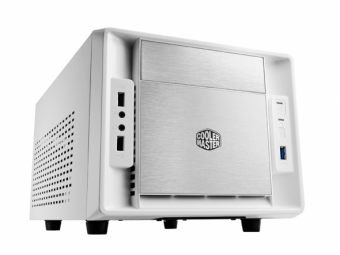 Корпус Cooler Master Elite 120 Advanced HTPC Без БП Белый (mITX) RC-120A-WWN1