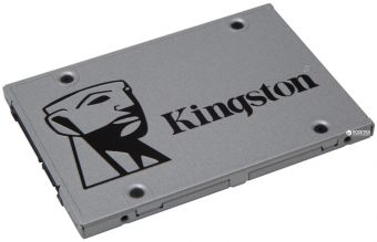 Диск SSD Kingston - SSDNow UV400, for Desktop, 120GB, SATA III (6Gb/s), speed write-350MB/s read-550MB/s, TLC, Marvell 88SS1074, SUV400S37/120G