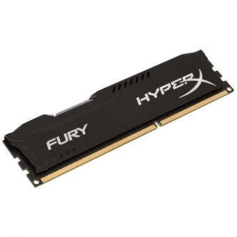 Модуль памяти Kingston - HyperX FURY Black, 8GB, DIMM DDR3, non ECC, 1333MHz, CL9, 1.5В, HX313C9FB/8