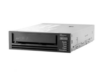 Стример HP Enterprise - StoreEver LTO-7 Ultrium 15000, В отсек, SAS 6Gb/s, buffer size1024MB, 300Mb/s, encryption, Половинной высоты (Half-High), N7P37A