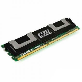 Модуль памяти Kingston ValueRAM 1ГБ DIMM DDR2 Fully Buffered 5300МГц D8 (2Rx8) CL5 1.8В KVR667D2D8F5/1G