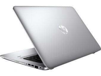 "Ноутбук HP ProBook 470 G4 - 17.3"", 1920x1080 (Full HD), Intel Core i5 7200U 2500MHz, SODIMM DDR4 8GB, SSD 256GB, nVidia GeForce GT 930MX 2GB, Bluetooth, Wi-Fi, DVD-RW, Серебристый, Windows 10 Pro 64, Y8A82EA - фото 1"