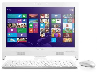 "Моноблок Lenovo C260 19.5"" Intel Celeron J1800 1x4GB 500GB Intel HD Graphics FreeDOS 57331763 - фото 1"