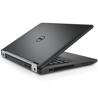 "Ноутбук Dell Latitude E5470 - 14"", 1920x1080 (Full HD), Intel Core i5 6300HQ 2300MHz, SODIMM DDR4 8GB, SSD 256GB, Intel HD Graphics 530, Bluetooth, Wi-Fi, noDVD, 4cell, Чёрный, Windows 7 Professional 64 + Windows 10 Pro 64, 5470-9419 - фото 1"