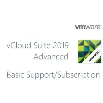 Фото Подписка VMware поддержка Basic для vCloud Suite 2019 Advanced Lic 12 мес., CL19-ADV-G-SSS-C - фото 1