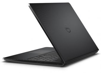 "Ноутбук Dell Inspiron 3552 - 15.6"", 1366x768 (WXGA), Intel Celeron N3060 1600MHz, SODIMM DDR3L 4GB, HDD 500GB, Intel HD Graphics, Bluetooth, Wi-Fi, DVD-RW, 4cell, Чёрный, Ubuntu Linux, 3552-0507 - фото 1"