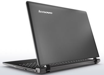 "Ноутбук Lenovo B50-10 - 15.6"", 1366x768 (WXGA), Intel Pentium N3540 2160MHz, SODIMM DDR3 2GB, HDD 500GB, Intel HD Graphics, Bluetooth, Wi-Fi, noDVD, 4cell, Серый, FreeDOS, 80QR004GRK - фото 1"