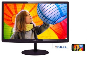 "Монитор Philips 247E6QDAD 23.6"" LED IPS 250кд/м² 1920x1080 (Full HD) Чёрный 247E6QDAD/00"