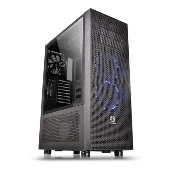 "Корпус Для ПК Thermaltake - Core X71 Tempered Glass Edition, Tower, без БП, (mITX/mATX/ATX), 5х3.5""int, 2х5.25"", 2xUSB2.0, 2xUSB3.0, цветЧёрный, CA-1F8-00M1WN-02 - фото 1"