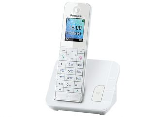 DECT-телефон Panasonic - KX-TGH210RU, standby time 250h, talk time 14h, 1-handset, phone book 200 numbers, search handset, additional handset, key illumination, Белый, KX-TGH210RUW