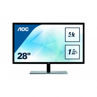 "item-slider-more-photo-Фото Монитор AOC U2879VF 28"" LED TN Чёрный, U2879VF - фото 1"