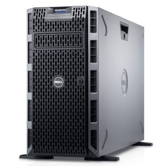 Сервер Dell - PowerEdge T630, 1xIntel Xeon E5 2630v3 2400MHz, DIMM DDR4 1x16GB, 8xLFF, PERC H730, 2x1GbE, DVD-RW, 2x750W, Tower, 5U, 210-ACWJ-8 - фото 1
