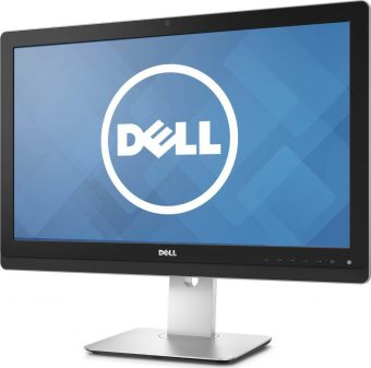"Монитор Dell - UZ2315H, 23"", 16:9, LED, IPS, 8ms, 300cd/m², 1000:1, 1920x1080 (Full HD), 75Hz, VGA, 2x HDMI, 1x DP, USB-hub, HAS, pivot, speakers, web cam, цвет Чёрный, 210-AEVJ"