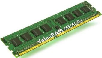 Модуль памяти Kingston ValueRAM 1ГБ DIMM DDR2 REG 400МГц S4 (1Rx4) CL3 1.8В KVR400D2S4R3/1G