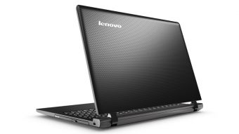 "Ноутбук Lenovo IdeaPad 100-15IBY - 15.6"", 1366x768 (WXGA), Intel Pentium N3540 2160MHz, SODIMM DDR3L 2GB, HDD 250GB, Intel HD Graphics, Wi-Fi, DVD-RW, 3cell, Чёрный, Windows 10 Home 64, 80MJ00DVRK - фото 1"