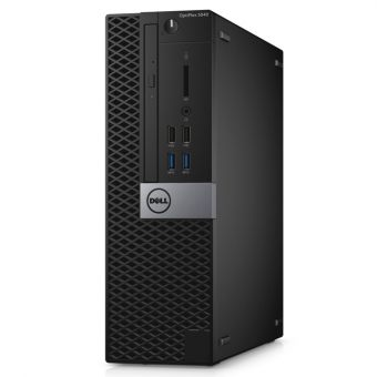 Настольный компьютер Dell - Optiplex 5040, Intel Core i5 6500 3200MHz, DIMM DDR3L 4GB, SATA III (6Gb/s)  500GB, Intel HD Graphics 530, noDVD, Чёрный, Ubuntu Linux, 5040-1981 - фото 1