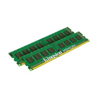 Комплект памяти Kingston ValueRAM 16ГБ DIMM DDR3 non ECC 1600МГц D8 (2Rx8) CL11 1.5В (2шт.) KVR16N11K2/16