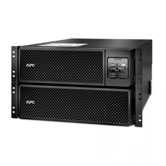 ИБП APC by Schneider Electric Smart-UPS SRT 10000VA/10000W 220V / 380V On-Line Hot Swap User Replaceable Batteries LCD Rack/Tower RM SRT10KRMXLI - фото 1