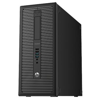 Настольный компьютер HP EliteDesk 800 G1 Intel Core i3 4160 1x4GB 500GB Intel HD Graphics 4400 Windows 8.1 Pro 64 downgrade Windows 7 Professional 64 J7C44EA - фото 1