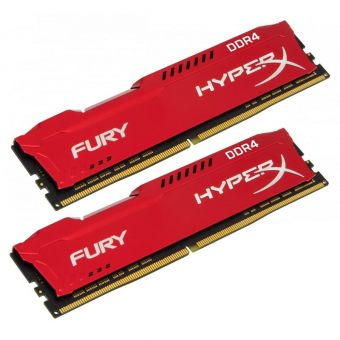 item-slider-more-photo-Фото Комплект памяти Kingston HyperX FURY Red 16GB DIMM DDR4 2400MHz (2х8GB), HX424C15FR2K2/16 - фото 1