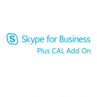 Подписка Microsoft Skype for Business Plus CAL Add On Single OLP 12 мес. W35-00003