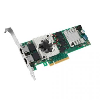 Сетевая карта Dell - X540, 10 Гб/с, RJ-45, 2-port, PCI Express x8, 540-BBDU