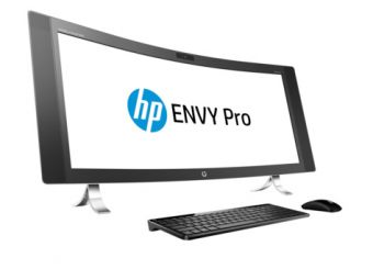 "Моноблок HP Envy Curved 34-a090ur 34"" Intel Core i7 6700T 1x8GB 256GB nVidia GeForce GTX 960A Windows 10 Pro 64 V7Q63EA"