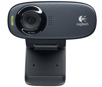 Web-камера Logitech - C310, 5.0Mp, 1280 x 720, USB 2.0, mic, face tracking, цвет Чёрный, RTL, 960-000638 - фото 1