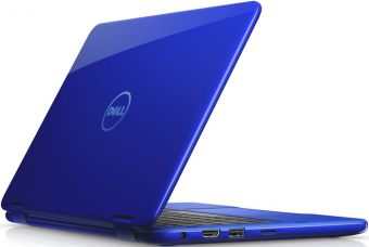 "Ноутбук-трансформер Dell Inspiron 3168 11.6"" 1366x768 (WXGA) Intel Pentium N3710 4 ГБ HDD 500GB Intel HD Graphics 405 TouchScreen Windows 10 Home 64, 3168-5414 - фото 1"