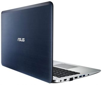 "Ноутбук Asus X555BP-XO007T 15.6"" 1366x768 (WXGA) AMD A6 9210 4 ГБ HDD 500GB AMD Radeon R5 M420 DDR3 1GB Windows 10 Home 64, 90NB0D38-M00100 - фото 1"