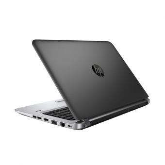 "Ноутбук HP ProBook 440 G3 - 14"", 1920x1080 (Full HD), Intel Core i3 6100U 2300MHz, SODIMM DDR4 4GB, SSD 128GB, Intel HD Graphics 520, Bluetooth, Wi-Fi, noDVD, 4cell, Чёрный, Windows 10 Pro 64 downgrade Windows 7 Professional 64, W4N86EA - фото 1"