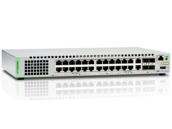 Коммутатор Allied Telesis AT-GS924MX Управляемый 24-1GbE 2-SFP+ 2-combo-1GbE AT-GS924MX-50