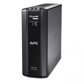 ИБП APC by Schneider Electric Back-UPS Pro 1200VA/720W 230V Line-Interactive Hot Swap User Replaceable Batteries LCD Tower  BR1200G-RS - фото 1