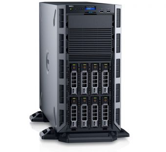 Сервер Dell - PowerEdge T330, 1xIntel Xeon E3 1225v3 3200MHz, 8xLFF, PERC H330, 2x1GbE, DVD-RW, 1x495W, Tower, , T330-AFFQ-03T - фото 1