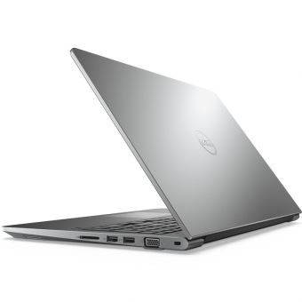 "Ноутбук Dell Vostro 5568 - 15.6"", 1920x1080 (Full HD), Intel Core i5 7200U 2500MHz, SODIMM DDR4 8GB, HDD 1TB, nVidia GeForce GT 940M 2GB, Bluetooth, Wi-Fi, noDVD, 3cell, Серый, Windows 10 Home 64, 5568-2846 - фото 1"