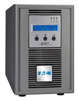 ИБП Eaton - EX, 1500VA/1350W, On-Line, in (230V 1xIEC-320 C14), out (6xIEC-C320 C13), LCD , Tower, 68183 - фото 1
