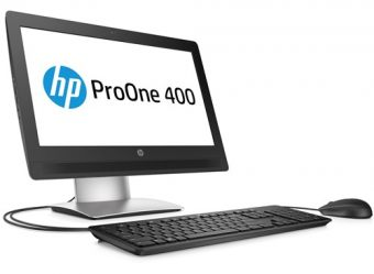 "Моноблок HP ProOne 400 G2 20"" Intel Pentium G4400T 1x4GB 500GB + 8GB Intel HD Graphics 510 Windows 10 Pro 64 downgrade Windows 7 Professional 64 V7Q68ES - фото 1"