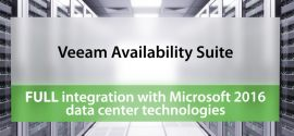 Выпущен Veeam Availability Suite 9.5