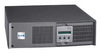ИБП Eaton - EX, 3000VA/2700W, On-Line, in (230V 1xIEC-320 C20), out (8xIEC-C320 C13 1xIEC-C320 C19), LCD , Rack/Tower, 3U, 68402