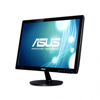"Монитор Asus - VS197DE, 18.5"", 16:9, LED, TN, 5ms, 200cd/m², 1366x768 (WXGA), 76Hz, VGA, цвет Чёрный, VS197DE - фото 1"