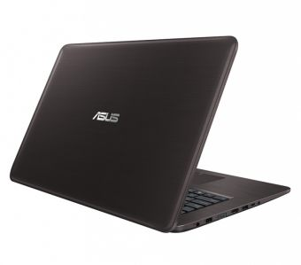 "Ноутбук Asus X756UV-TY042T - 17.3"", 1600x900 (HD+), Intel Core i3 6100U 2300MHz, SODIMM DDR3L 4GB, HDD 1TB, nVidia GeForce GT 920MX 2GB, Bluetooth, Wi-Fi, DVD-RW, 2cell, Коричневый, Windows 10 Home 64, 90NB0C71-M00420 - фото 1"